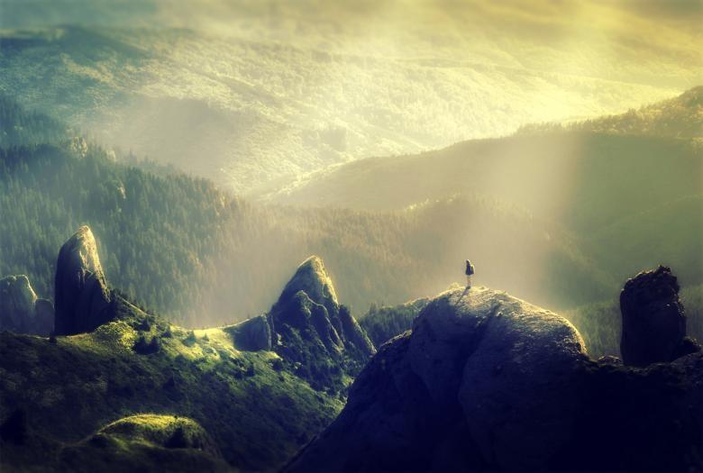 Slika v gore